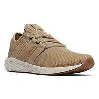 J8857 New Men's New Balance MCRUZNT2 Hemp Brown Running Shoe 13 D