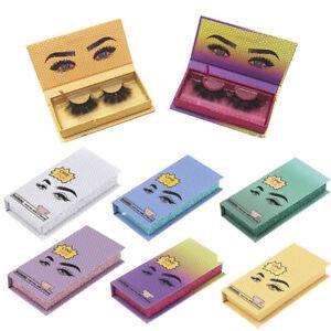 Eyelash Container for False Eyelash Eyelashes Packaging Box Empty Eyelash Case