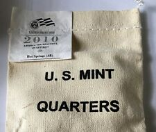 2010 HOT SPRINGS AMERICA THE BEAUTIFUL NATIONAL PARK QUARTERS 100 COIN BAG 'D'