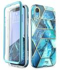 """iPhone XR 6.1"""" Case, i-Blason Cosmo Full-Body Protective Bumper Case with Screen"""