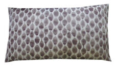 "West Elm Stamped Dot Silk Pillow Cover - 12"" x 21"""