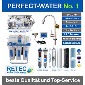 Ultimate PLUS PRO Osmoseanlage 600 GPD direct flow Umkehrosmose Wasserfilter