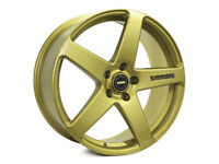 "4X GENUINE SIMMONS 20"" FRC HOLDEN VF VE GOLD SATIN  WHEELS & NEW  TYRES VZ VY VT"