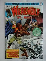 Werewolf By Night #37, FN 6.0, 3rd Appearance Moon Knight