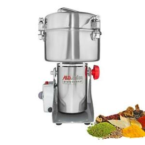 Grain Mill Grinder | Swing Type Grinder | High-Speed Electric Chopper | 2000 gr