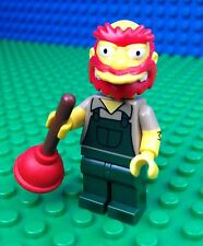Lego 71009 The Simpsons Series 2 GROUNDSKEEPER WILLIE Plunger Minifig Minifigure