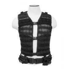 VISM Tactical PALS/MOLLE Vest Black MED-2XL CPV2915B
