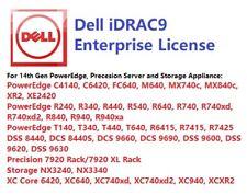 Same Day, Dell iDRAC9 Enterprise License, 14G PowerEdge R740/R640/R540/R440/R340