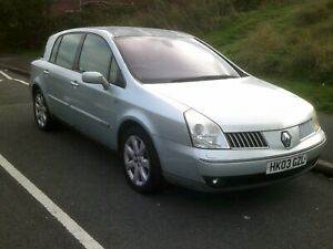 Renault Vel Satis Initiale V6 Auto, Grey, Mot, Drives well, Fully loaded, Rare