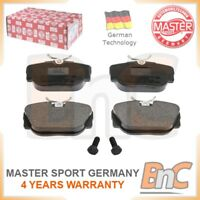 GENUINE MASTER-SPORT GERMANY HEAVY DUTY FRONT DISC BRAKE PAD SET FOR BMW
