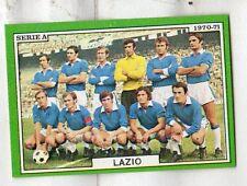 figurina CALCIATORI EDIS 1970-71 LAZIO SQUADRA