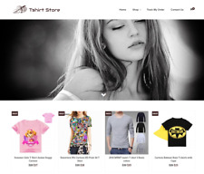 Tshirt Store Turnkey Website BUSINESS For Sale - Profitable DropShipping