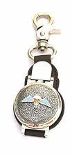 Para Wings Parachute Regiment Emblem Clip on Fob Pocket Watch Army Gift BGK43