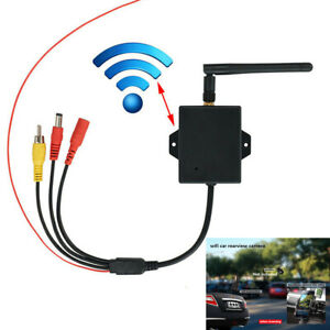 Car WiFi Wireless Transmitter Module Backup Camera AV Rear View Kit Universal