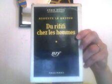 Auguste Le Breton pour Du rififi chez les hommes