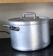 Bourgeat Casserole Pan With Lid Aluminium 17litre  37cm Diameter 24cm Dep