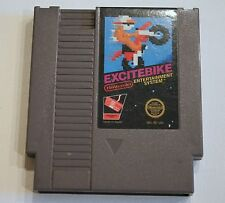 Excitebike Nintendo Entertainment System NES-EB-USA Game Cartridge Tested Works