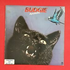 BUDGIE Impeckable SP4675 White Label Promo LP Vinyl VG++ Cover VG+