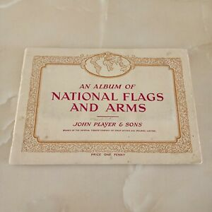 JOHN PLAYER & SONS. NATIONAL FLAGS AND ARMS CIGARETTE CARDS. 46 OUT OF 50 CARDS