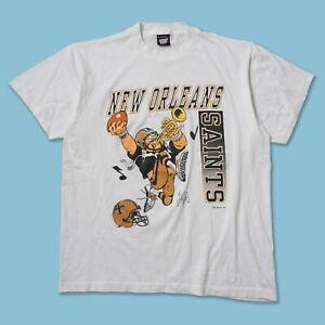 New Orleans Saints NFL T shirt Men's Women's Classic Style Vintage Cotton NH2192