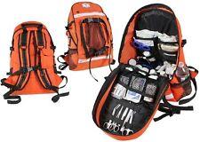 Orange Tactical EMS EMT Paramedic Law Enforcement First Aid Trauma Kit Backpack
