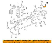 HONDA OEM 06-11 Civic 1.8L-L4-Exhaust System Tail Pipe 18310SDA305