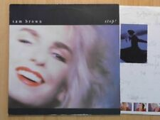 SAM BROWN LP: STOP! (EUROPE;A&M Records 395 195-1)