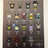 "Kidrobot Art of War Dunny 3"" Vinyl Figure Blind Box FREE SHIPPING (SINGLE BOX)"