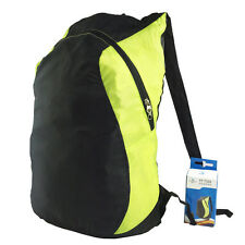 Cycling Sports Bag Compact Folding Lightweight Leisure Travel Backpack Yellow