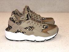 64e3773bf6f Nike Air Huarache Run Print sz 6.5 Womens Leopard 725076-200