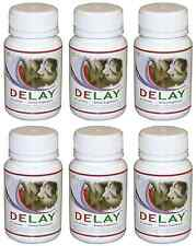 6x DELAY Last Longer In Bed Increase Stamina Prolong Intimacy Endurance