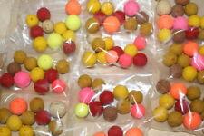 80 x carp baits rock hard popup hookbaits mixed flavour em yourself