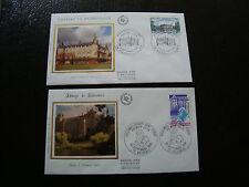 FRANCE - 2 enveloppes 1er jour 1980 (cy11) french (Z)
