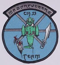 Luftwaffe Aufnäher Patch ISAF CH 53 MAZARFUCKERZ Team ............A4681K