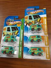 Hot Wheels Scooby-Doo The Mystery Machine 2012 NEW MODEL  LOT OF 5