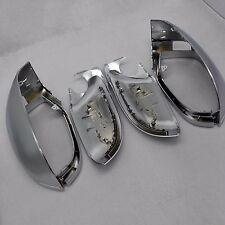 for AUDI A7 S7 car mirror cover cap housing alu matt silver With side assist