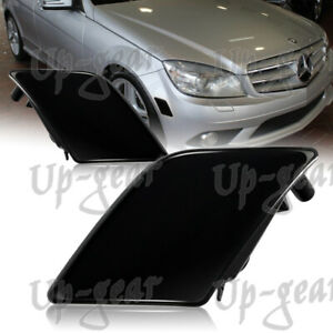 For 08-11 Mercedes Benz W204 C-Class Smoke Lens Turn Signal Side Marker Lights