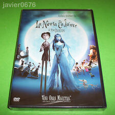 LA NOVIA CADAVER TIM BURTON DVD NUEVO Y PRECINTADO