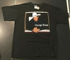 X Large Xl George Strait Vintage Used Xl T-Shirt Country Music Festival! Nice!