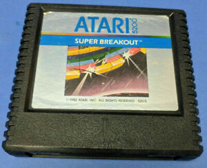 SUPER BREAKOUT (ATARI 5200, 1982) GAME CARTRIDGE ONLY ~TESTED~