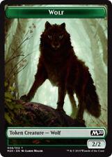 Jeton Wolf Loup 2//2 MTG magic SOI MRM FRENCH 4x Token