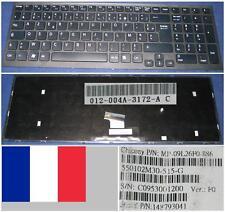Azerty French Keyboard SONY VAIO VPC-EB MP-09L26F0-886 148793041 Frame Black