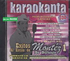 Grupo Montez de durango Pistas Musicales & Karaoke New Nuevo sealed