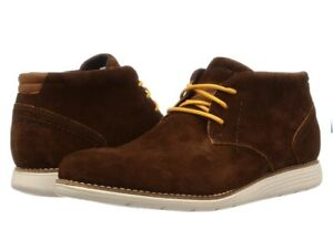 Mens Rockport Total Motion Dress Chukka Boots. Brown Size Uk 6.5.