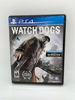 WATCH DOGS - PS4 - Used - Clean - 2014