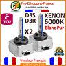 2 x Ampoules XENON D3S D3R 35W 6000K Originale Phare Ballast Feux HID 12V
