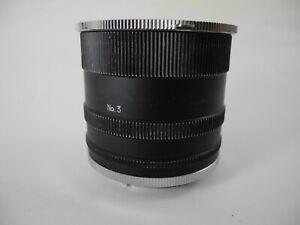 Nikon F F2 F3  camera mount 3 TUBE EXTENSION SET FOR MACRO WORK
