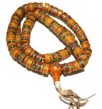 Tibetan mala black Amber mala yoga prayer beads meditation mala 108 beads M5