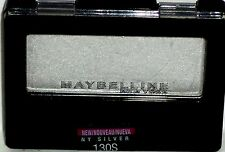 1 Maybelline New York Expert Wear Eye Shadow NY SILVER 130S Sealed