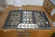 "Frigidaire Fggc3645Qs 36"" Stainless Gas 5 Sealed Burner Cooktop Nob #24751"
